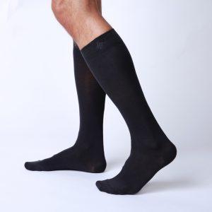 socks-high-knee-dark-blue-side